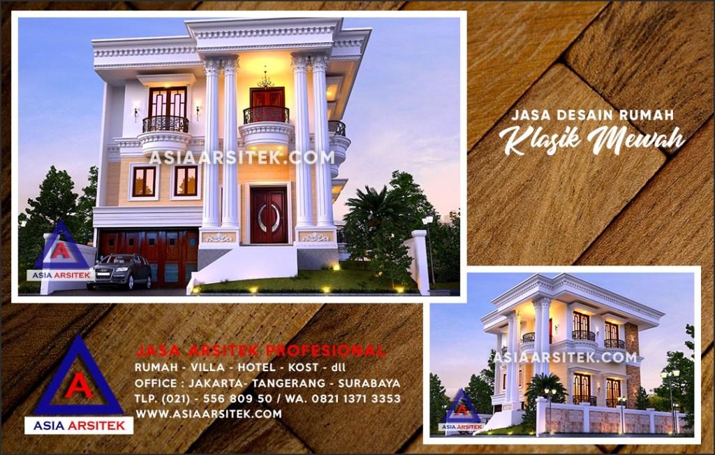 Jasa Arsitek Desain Gambar Rumah Mewah Di Depok Jawa Barat