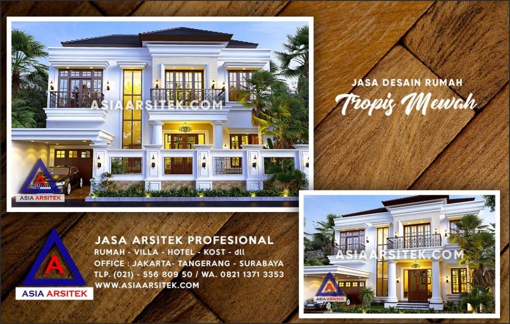 Jasa Arsitek Desain Gambar Rumah Mewah Di Kalimulya Depok