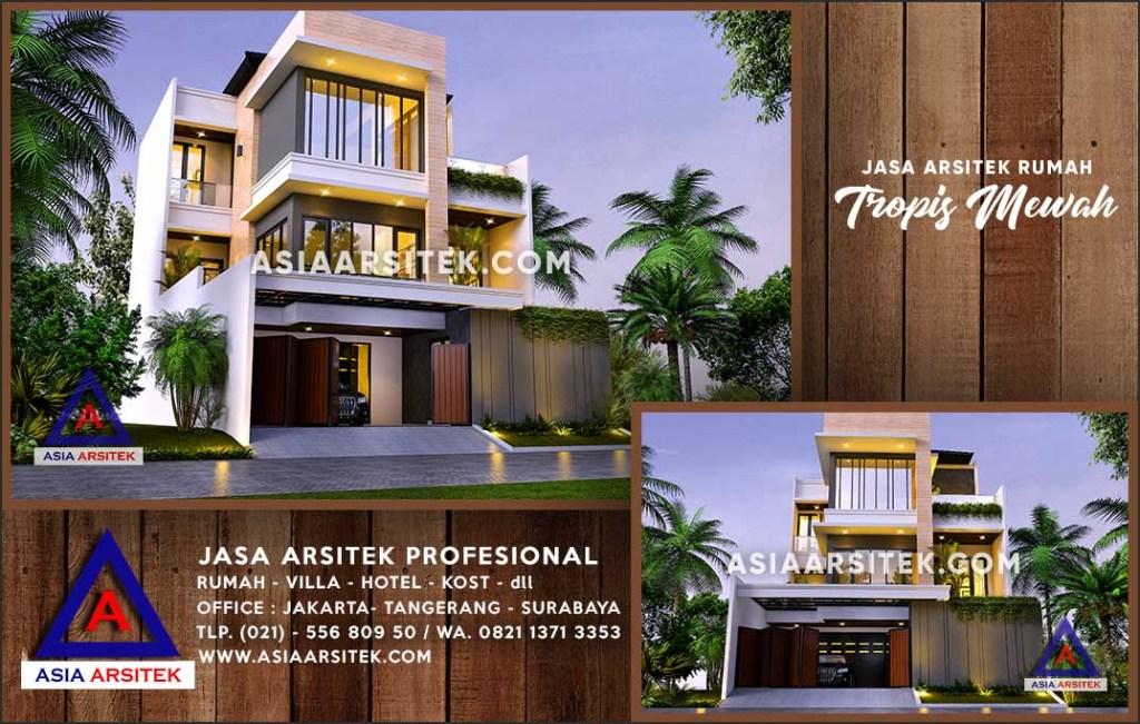 Jasa Arsitek Desain Gambar Rumah Mewah Di Malinau Kalimantan Utara