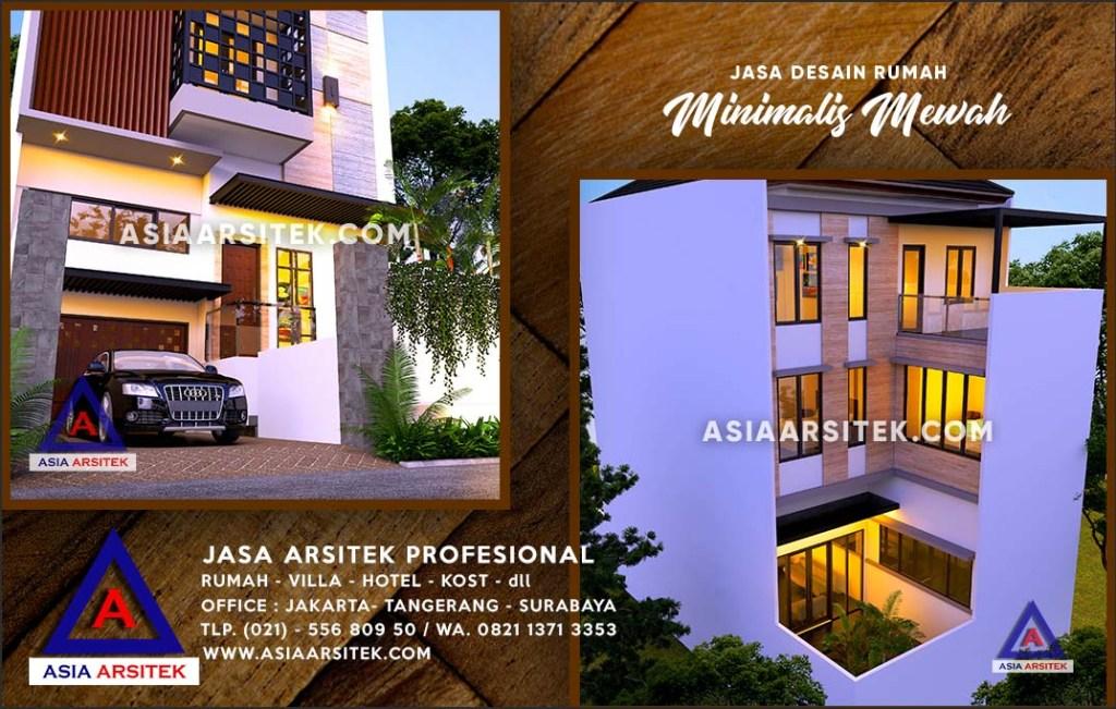 Jasa Arsitek Desain Gambar Rumah Mewah Di Mekar Jaya Depok