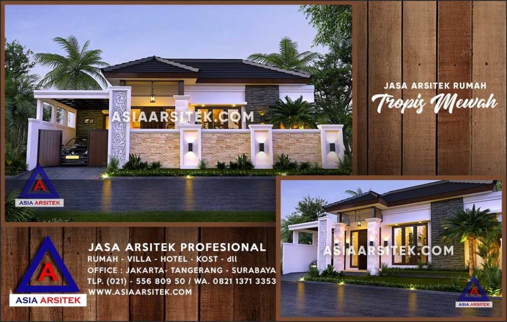 Jasa Arsitek Desain Gambar Rumah Mewah Di Nanga Pinoh Kalimantan Barat