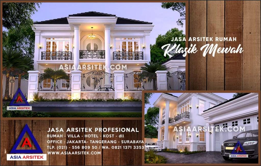Jasa Arsitek Desain Gambar Rumah Mewah Di Penajam Kalimantan Timur