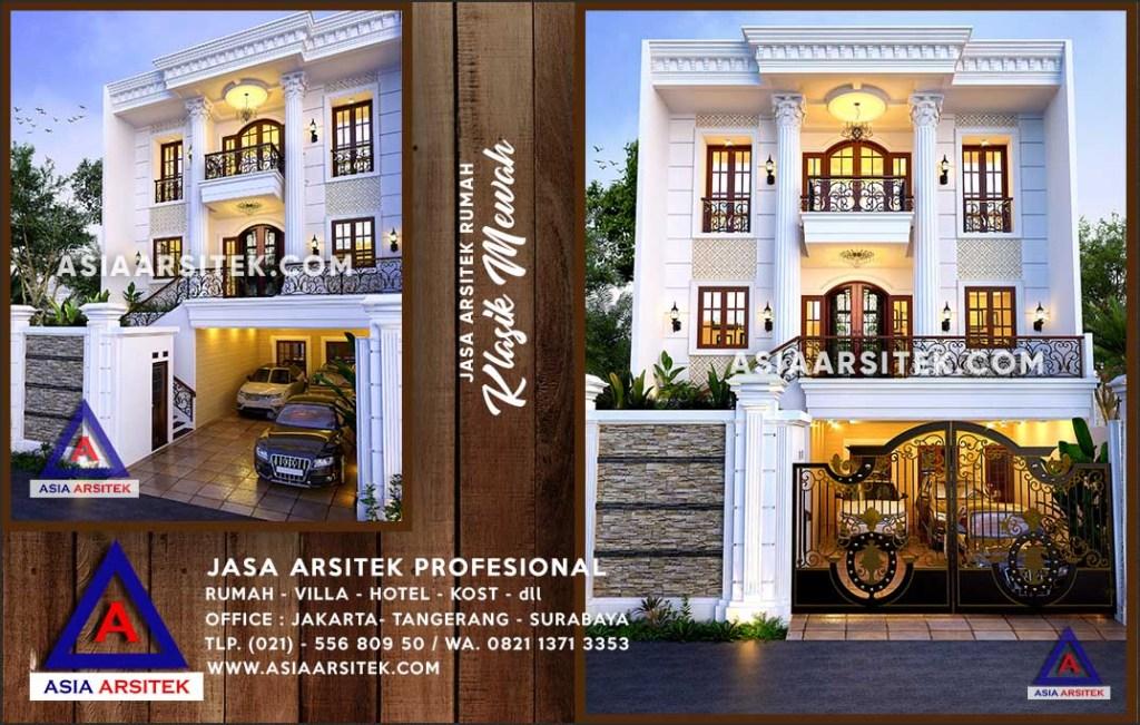 Jasa Arsitek Desain Gambar Rumah Mewah Di Tanah Bambu Kalimantan Selatan