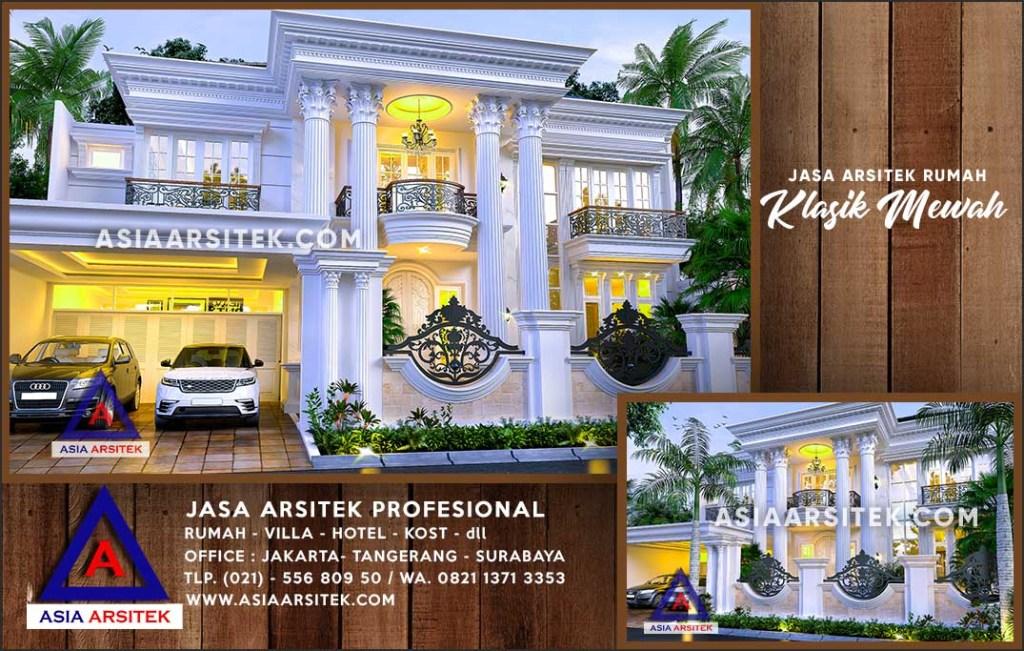 Jasa Arsitek Desain Gambar Rumah Mewah Di Tanah Laut Kalimantan Selatan