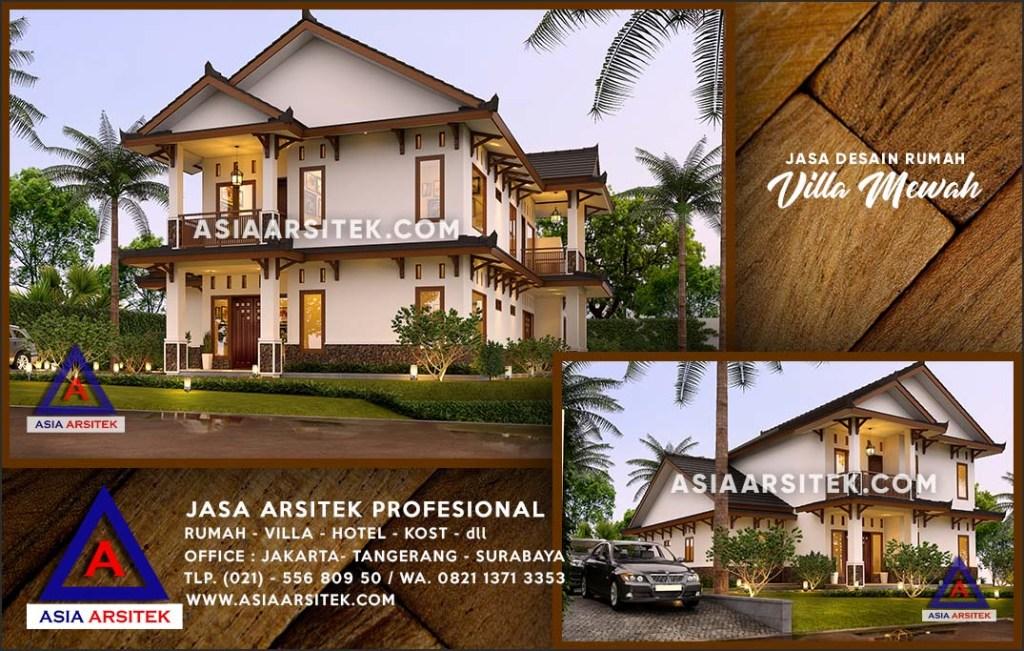 Jasa Arsitek Desain Gambar Rumah Mewah Di Tapos Depok