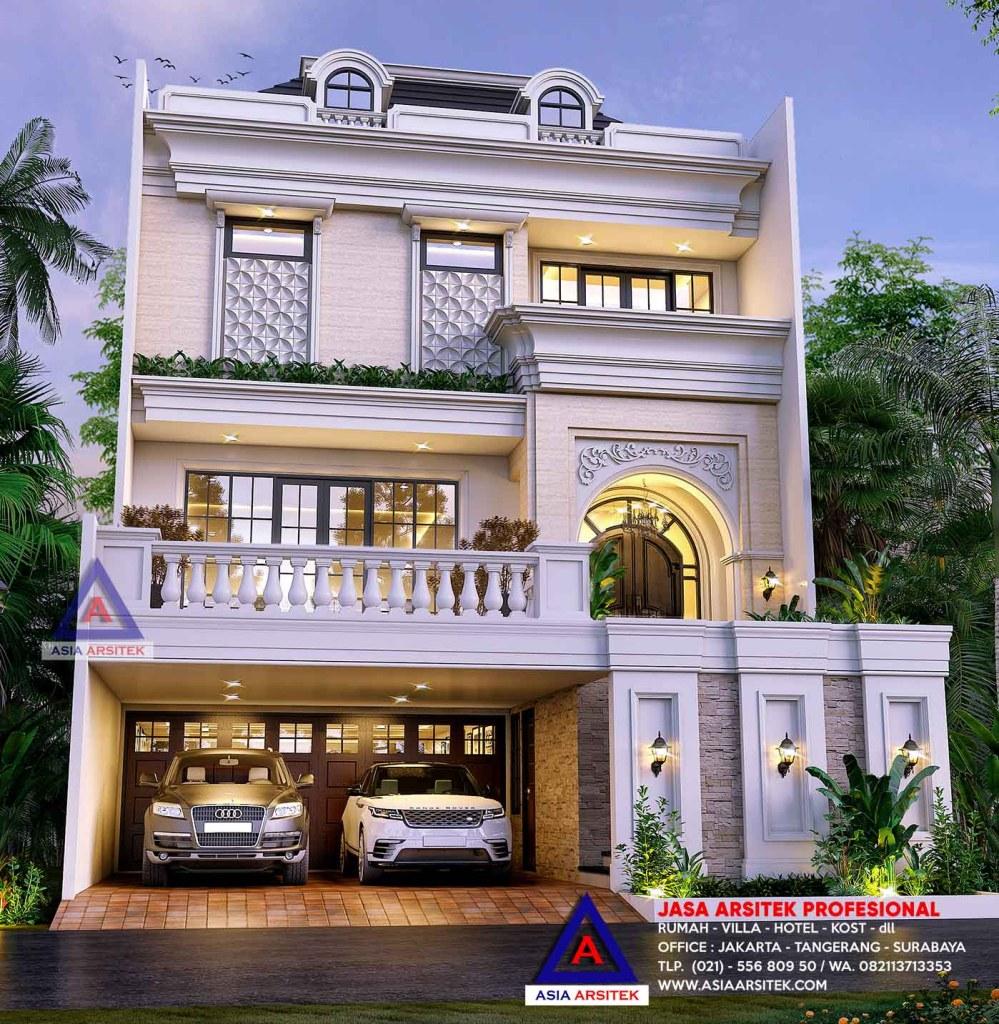 Jasa Arsitek Desain Rumah Tropis Modern Bapak Eddy Jakarta Barat