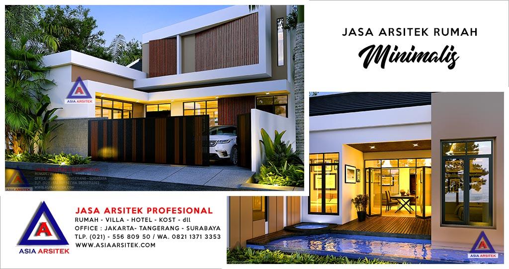 Jasa Arsitek Rumah Minimalis 2 Lantai Di Jakarta Selatan