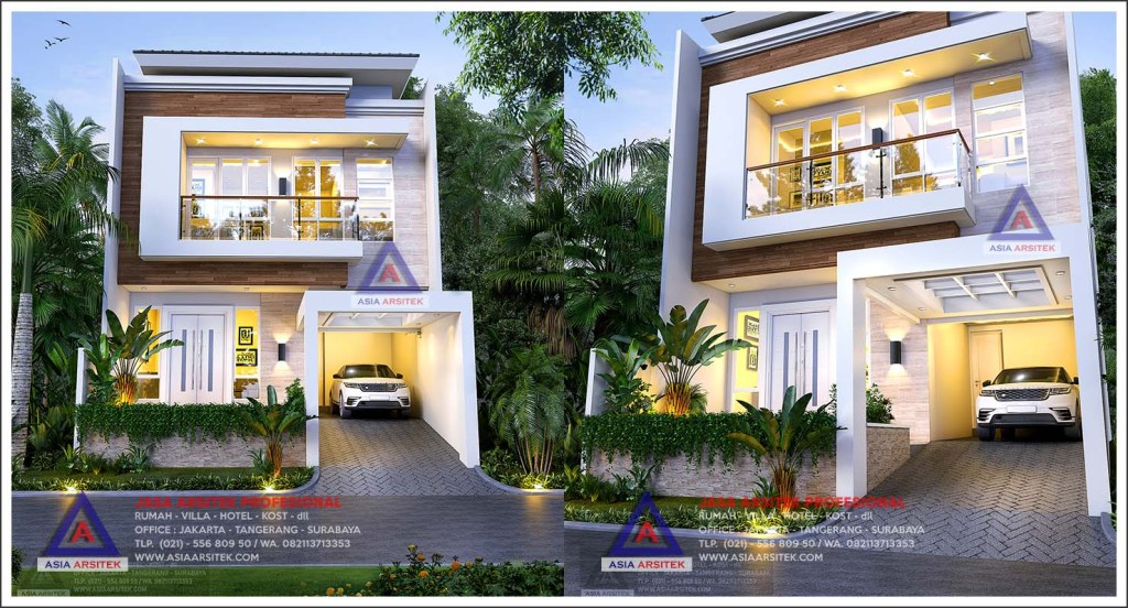 Jasa Gambar Desain Rumah Minimalis 2 Lantai Di Kebon Jeruk Jakarta Barat