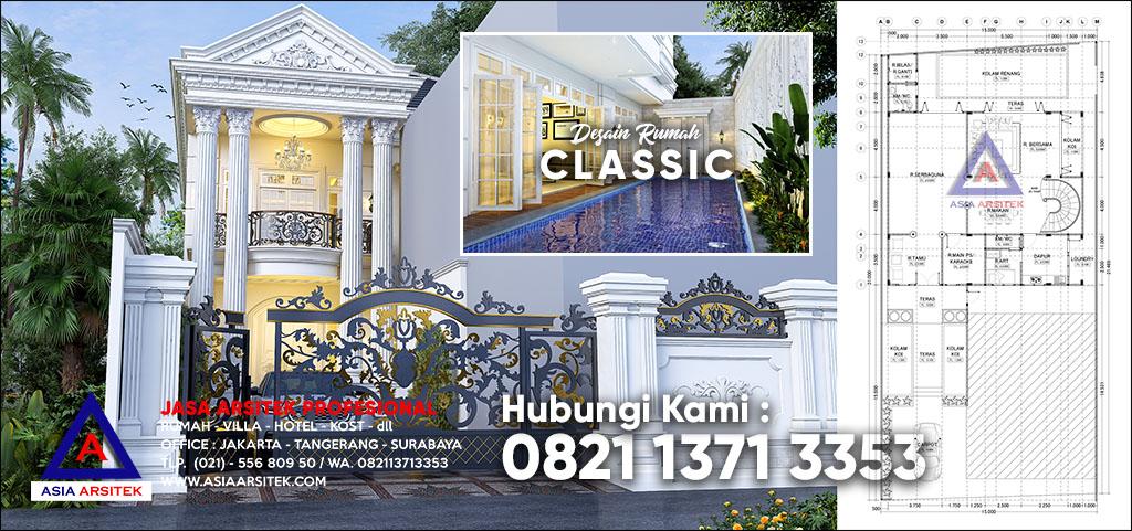 Jasa Arsitek Rumah Mewah Klasik Modern Di Bojonggede Bogor Jawa Barat