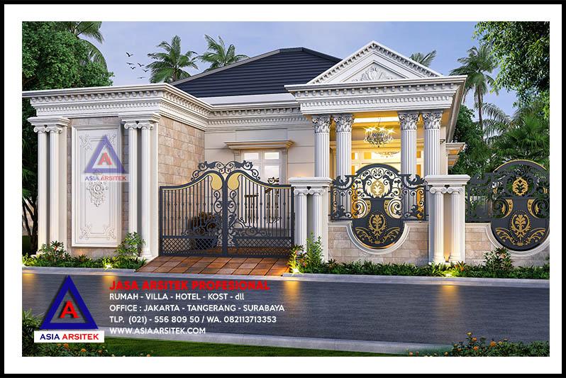 Permalink to √ Top 14 Ide Istimewa Rumah Klasik 1 Lantai Sederhana