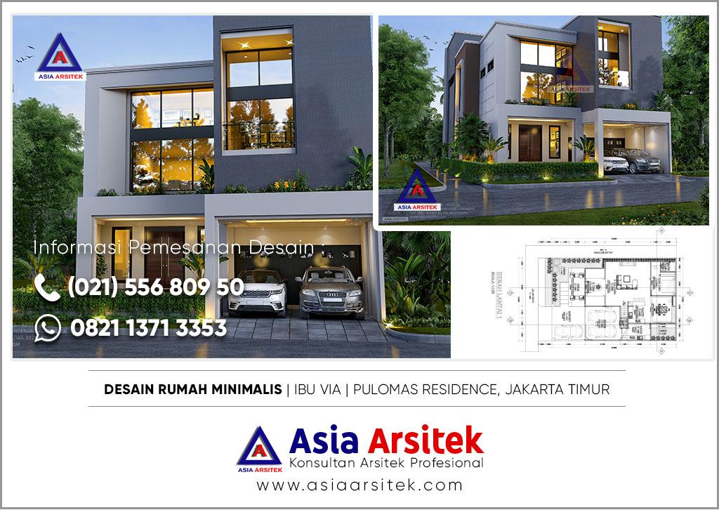 Jasa Arsitek Rumah Minimalis Kontemporer Di Jakarta Timur