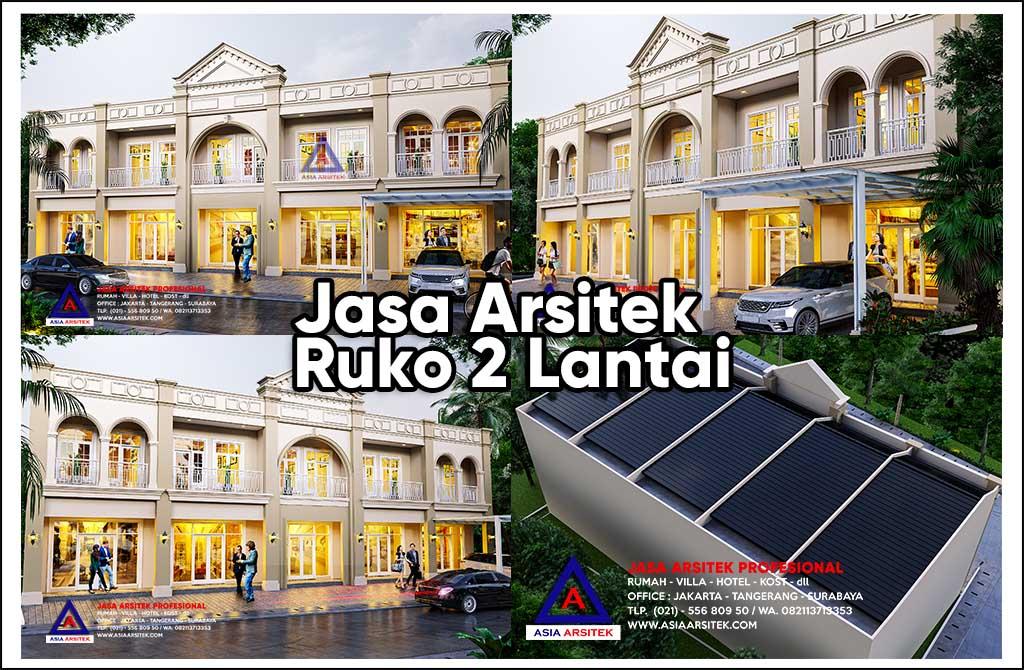 Jasa Arsitek Desain Ruko 2 Lantai Di Margoyoso Pati Jawa Tengah