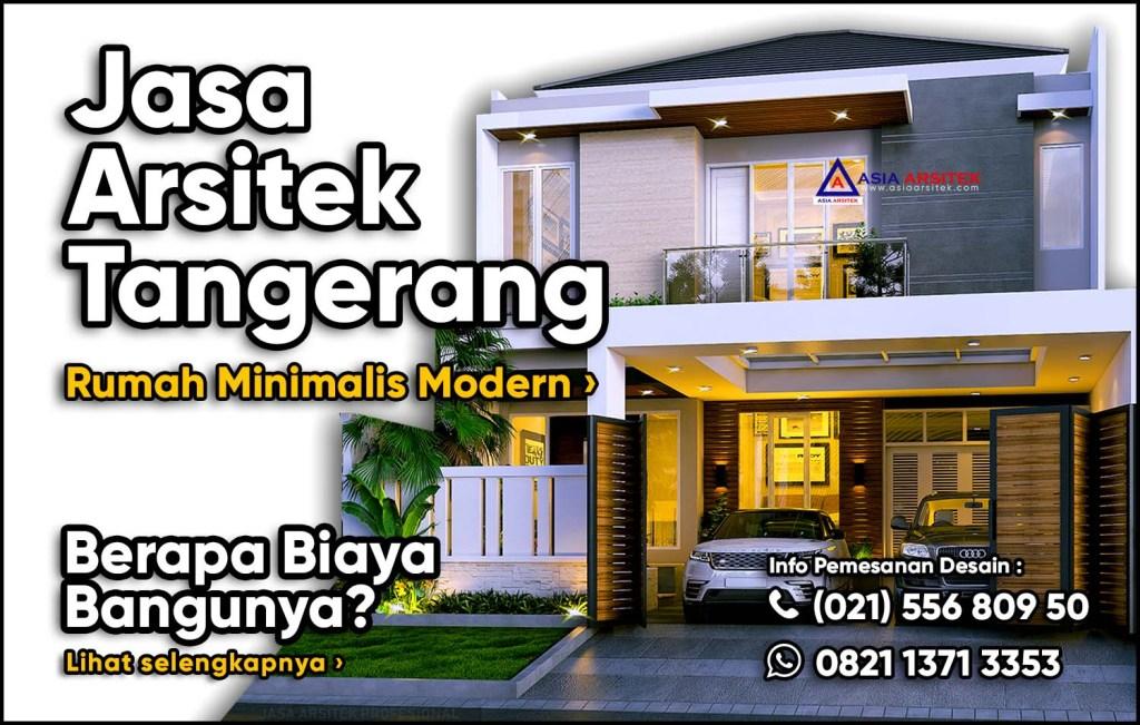 Jasa Arsitek Gading Serpong Tangerang | Animasi Desain Rumah Minimalis Modern