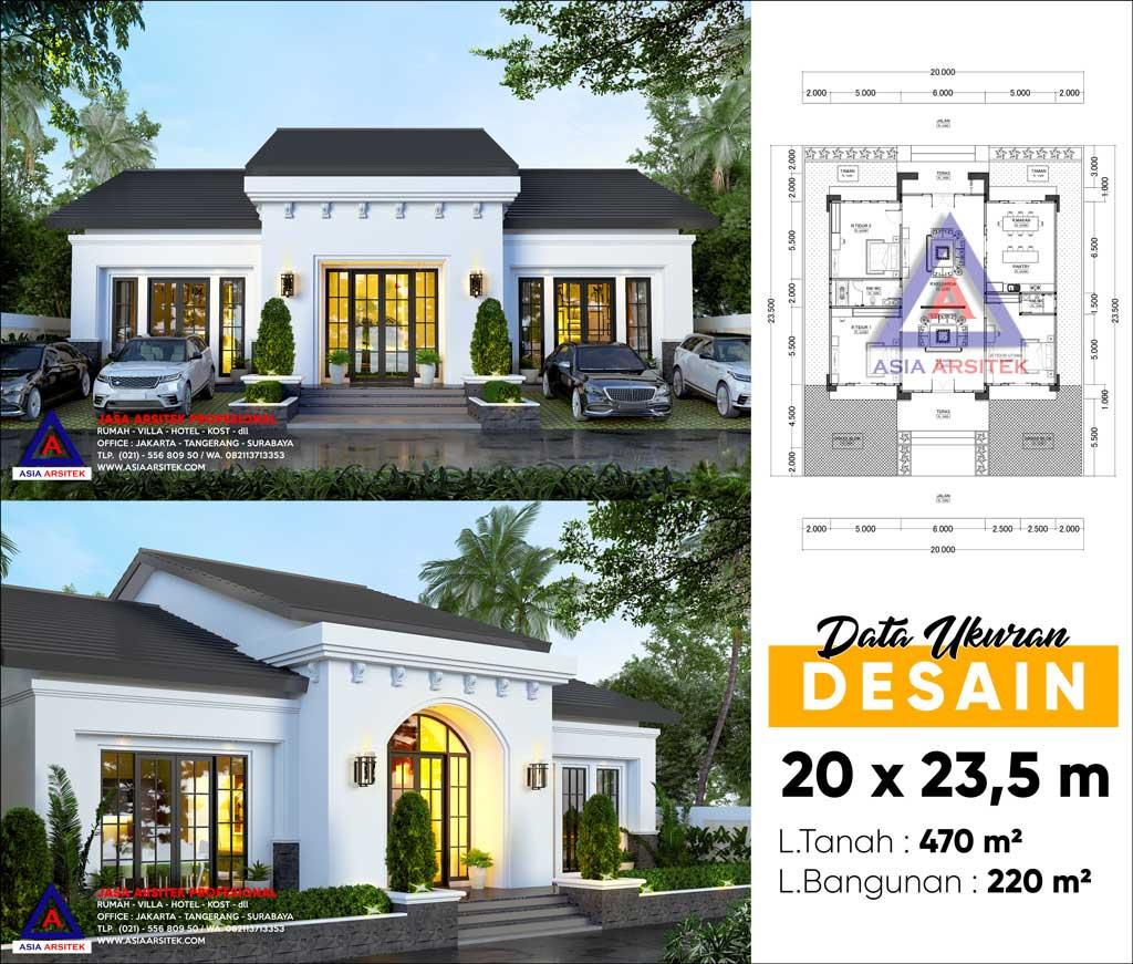 Jasa Arsitek Desain Rumah Tropis Mediterania di Kota Bogor Jawa Barat