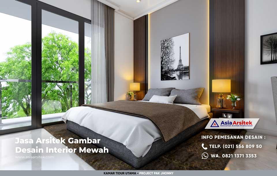 Jasa Arsitek Desain Interior Rumah Minimalis Modern Pak Jhonny di Jakarta Timur