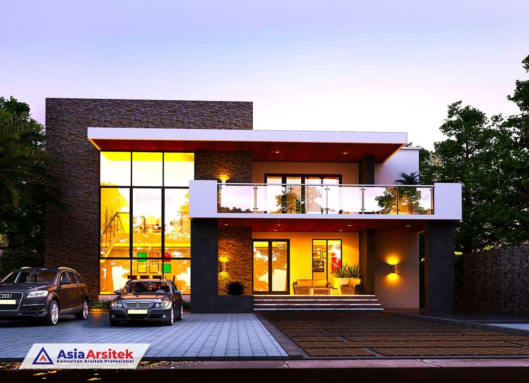 Desain-Rumah-Tinggal-Klasik-Sederhana-Minimalis-Tropis-Asia-Arsitek
