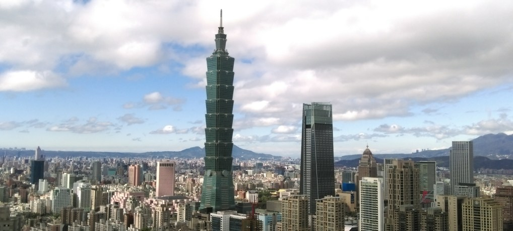 Hiking- Taking in Taipei 101