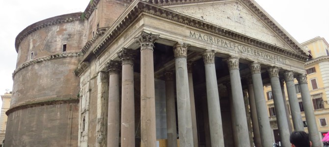 Exploring Rome's ancient castle, Pantheon, and more