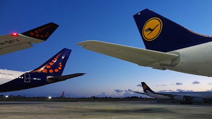 Lufthansa Brussels airlines