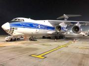 Volga-Dnepr cuts ground handling time with sequential loading of two IL-76's
