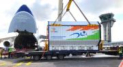 ANTONOV Airlines delivers Indian GSAT-31 for French Guiana launch