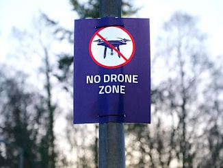 no fly zone for drones