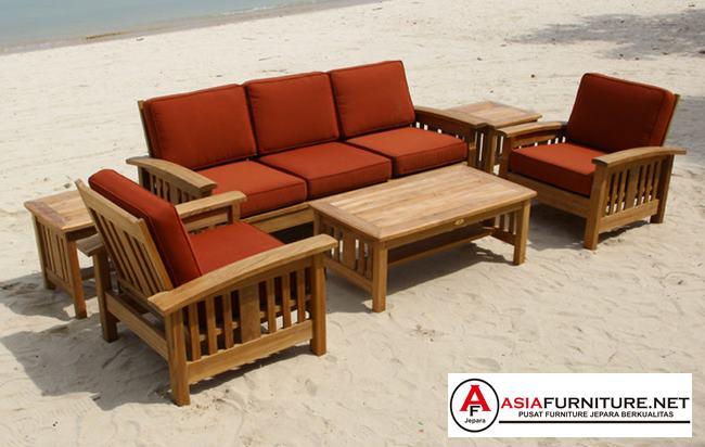 Kursi Tamu Jati Sofa Outdoor
