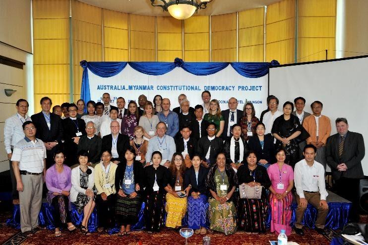 Australia Myanmar Constitutional Democracy Project