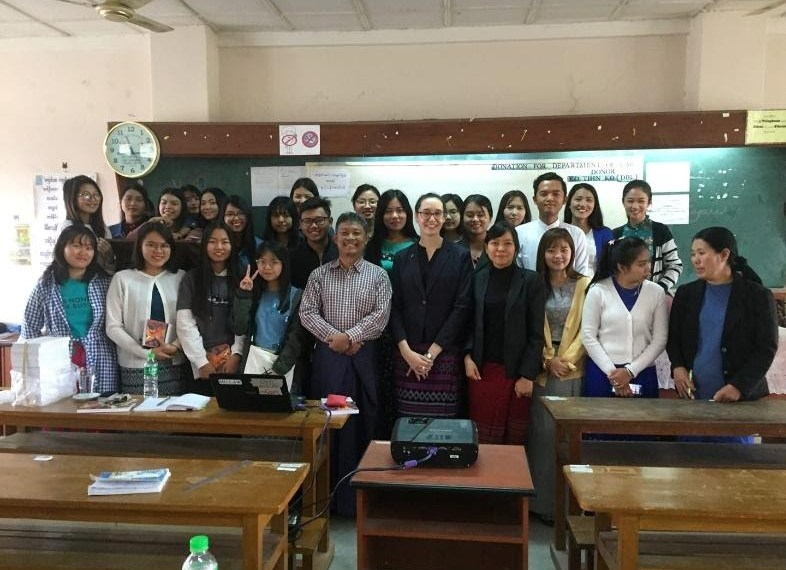 Collaboration with Universities in Myanmar