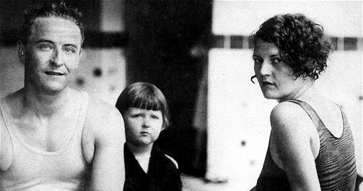 F. Scott Fitzgerald & family