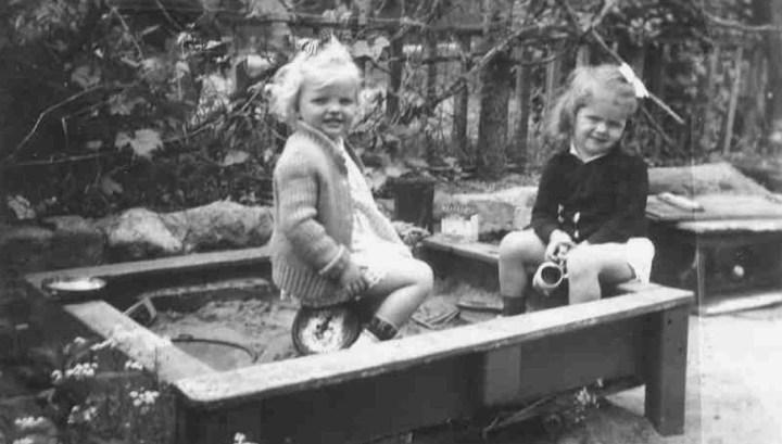 children playing sandbox - Version 2