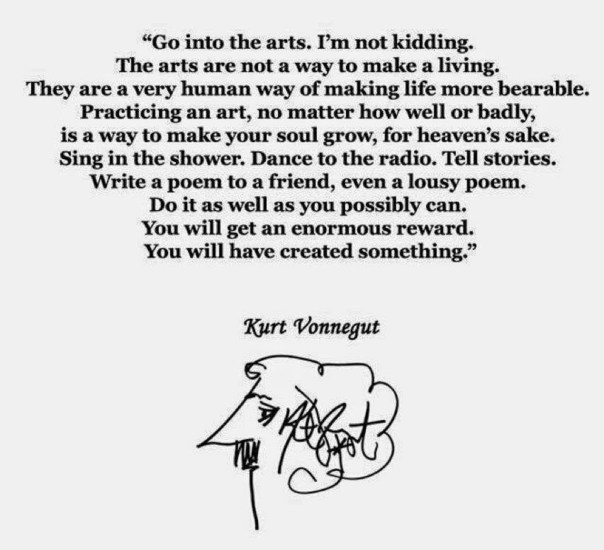 go into the arts