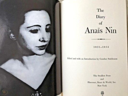 the diary of anais nin