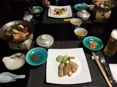 dinner presentation