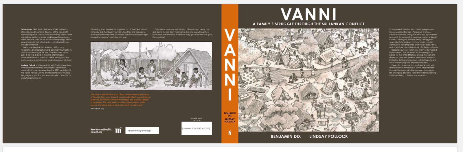 Vanni: a graphic novel by Ben Dix and Lindsay Pollock