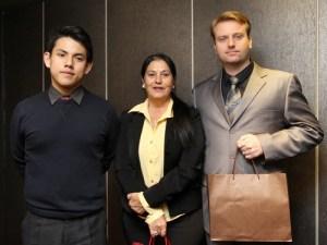 Iruan Ergui Wu (left).