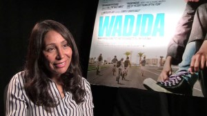 Wadjda director Haifaa al Mansour, Saudi Arabia's first feature film-maker