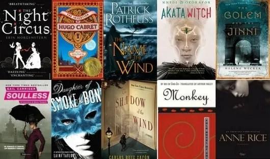 best fantasy travel books