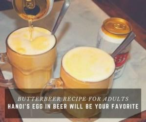 Butterbeer, Egg in beer