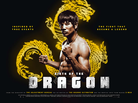 birth of the dragon poster UK