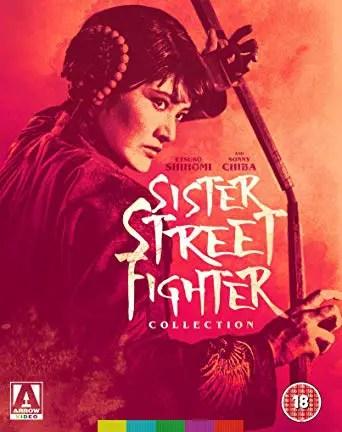 SISTER STREET FIGHTER BLU RAY