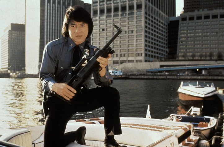 jackie chan in The Protector