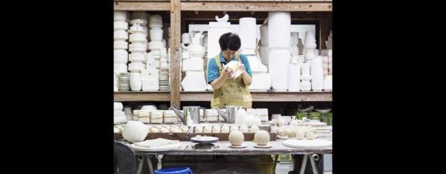 Pottery workshop, Arita, JapanPhoto: Kenta Hasegawa