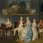 Colonel Blair with his Family and an Indian Ayah (1786) by Johan Zoffany, oil paint on canvas, 965 x 1346 mm, Tate