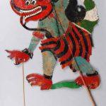 Ogre, Kelantan, Malaysia, hide, wood, mid-20th century © The Trustees of the British Museum
