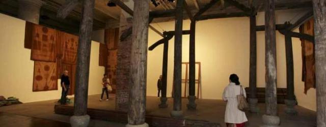 Danh Vo's work in the Arsenale, curated by Massimiliano Gioni. Photo by Francesco Galli. Courtesy of la Biennale di Venezia
