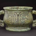 Food vessel (gui), Early Western Zhou dynasty, early 10th century BC, bronze, 15.88 x 30.48 cm. Bequest of Alfred F Pillsbury