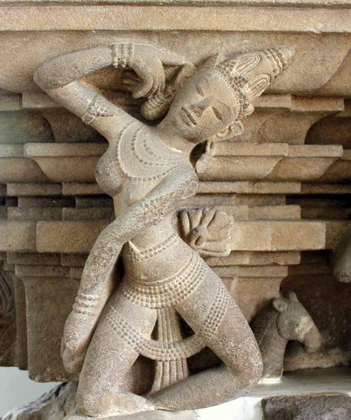 Apsara from the Champa period (500-1500), Cham Museum, Danang. Photo: Denise Heywood