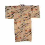 Kimono with motifs of The Night Parade of 100 Demons, 19th/20th century, Miyoshi City Collection