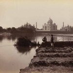 The Taj Mahal, Agra, seen from the north, unknown photographer, 1870s